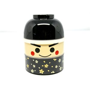 Bento - Kokeshi Black Low 850 ml